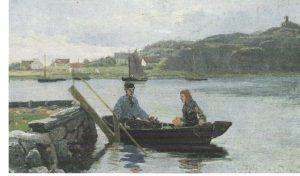 Hansteen 1882, Sandø 34-3 brygge