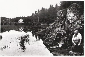 Kjynna, klesvask, Olava Johansdatter f.28.02.1861
