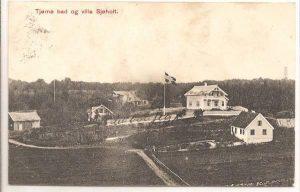 Tjømø Bad og villa Sjøholt ca. 1910